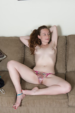 Ana Molly exercises and then plays with her dildo  - pic #7