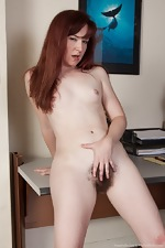 Annabelle Lee strips naked from her purple dress  - pic #16