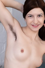 Atisha strips naked after finishing her cleaning - pic #6