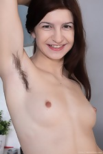 Atisha strips naked after finishing her cleaning - pic #10