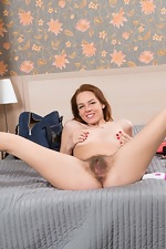 Candy Red masturbates in her bedroom with a toy - pic #8