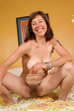 Kinky Charlie spreads her pink pussy lips - pic #16