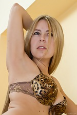 Chloe B staircase strip tease - pic #9