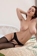 Chrystal Mirror masturbates after stripping naked - pic #7