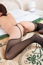 Chrystal Mirror masturbates after stripping naked - pic #11
