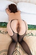 Chrystal Mirror masturbates after stripping naked - pic #12