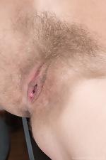 Darina Nikitina masturbates with dildo after work  - pic #8