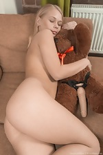 Darina Nikitina strips and masturbates with a toy - pic #15