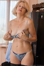 Diana Douglas masturbates at her desk today  - pic #5