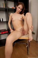 Cheeky Dosya touches her bush - pic #13