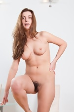 Edica in heels and her hairy pussy - pic #4