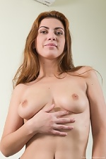 Edica wears denim in this hairy porn - pic #5