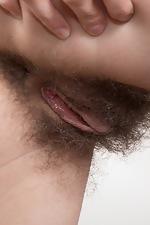Efina masturbates with her pink dildo  - pic #5