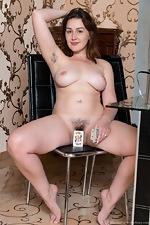 Ella Nori masturbates after posing in her lingerie - pic #16