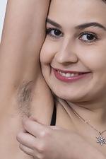 Eva Black strips naked while making dinner - pic #4
