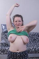 Eva Brawn enjoys a very naughty workout today - pic #2
