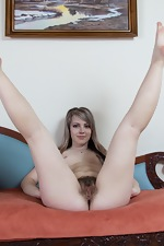 Fioryna strips naked from red dress  - pic #16