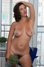 Gadget dressed in blue gets naked to play - pic #16