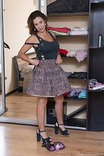 Gadget enjoys naughty playtime by her wardrobe - pic #3