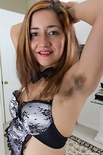 Isabel is a hard working hairy girl maid - pic #3