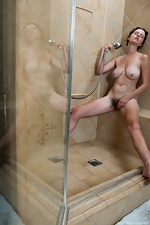 Jane takes a shower after getting dirty - pic #11
