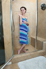 Jane takes a shower after getting dirty - pic #16
