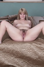 Jodie Dallas strips off grey sweater in bed  - pic #14