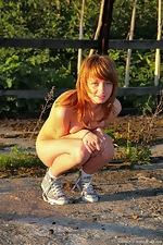 Karina plays in the sunshine - pic #3