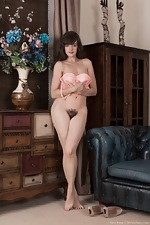 Kate Anne takes off denim skirt to get naked  - pic #11