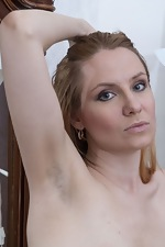 Katya strips naked on her dressing table - pic #7