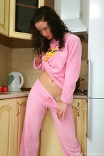 Kriss gets nasty in the kitchen - pic #1