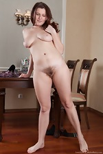 Russian Lena Lake strokes her pussy all nude - pic #14
