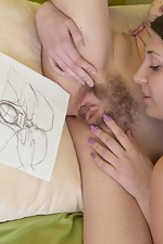 Hirsute porn featuring the sexy Mia and Jennifer - pic #13