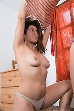 Natalia and Guadalupe have sex on an armchair  - pic #2
