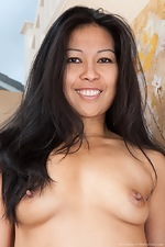 Max Makita shows her hairy pussy around house - pic #7