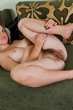 Golden girl Nadya gets naked - pic #15