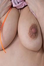 Nimfa Mannay enjoys some naked cleaning fun - pic #5