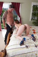 Hairy babe Sammy finds her match - pic #7