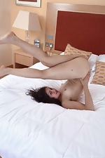 Sierra loves stripping naked while on her bed  - pic #11