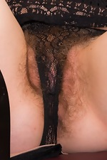 Temar strips naked wearing her black dress - pic #3