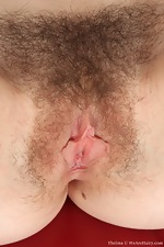 Sexy Thelma's big hairy bush - pic #15