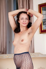Tracey Anne strips from stockings to masturbate - pic #8