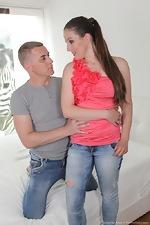 Valentina Ross has hot sex in her bedroom  - pic #1