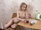 Lightfairy strips naked while enjoying her tea