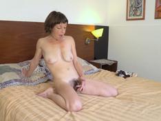 Helen H enjoys masturbating in her bedroom