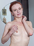 Eva Strawberry Hairy Pussy Girl