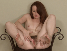 Hairy babe Annabelle Lee never shaves her legs