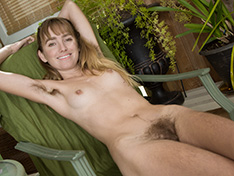 Rosy Heart is gardening but stripping naked too