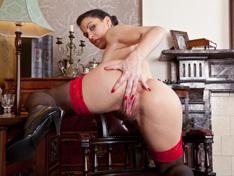 Roxy Mendez's sexy secretary stint